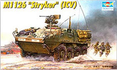 Trumpeter 1/35 Stryker Light Armored Vehicle (ICV)