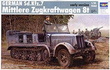 Trumpeter 1/35 Sd.Kfz.7 Mittlere Zugkraftwagen 8t early version