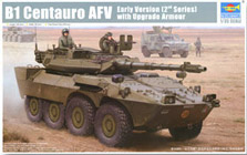 Trumpeter 1/35 B1 Centauro AFV Early Version 2nd Series with Upgrade Armour