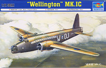 Trumpeter 1/72 Vickers Wellington I.C