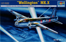 Trumpeter 1/72 Vickers Wellington Mk.X