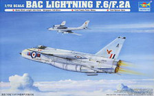 Trumpeter 1/72 English Electric (BAC) Lightning F.2A/F.6