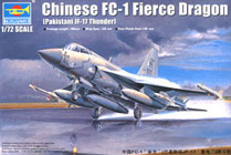Trumpeter 1/72 Chinese FC-1 Fierce Dragon