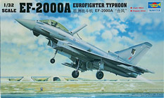 Trumpeter 1/32 Самолет EF-2000 Eurofighter Typhoon