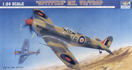 Trumpeter 1/24 Supermarine Spitfire Mk.Vb Tropical