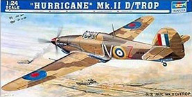 Trumpeter 1/24 Hawker Hurricane Mk.IID Tropical